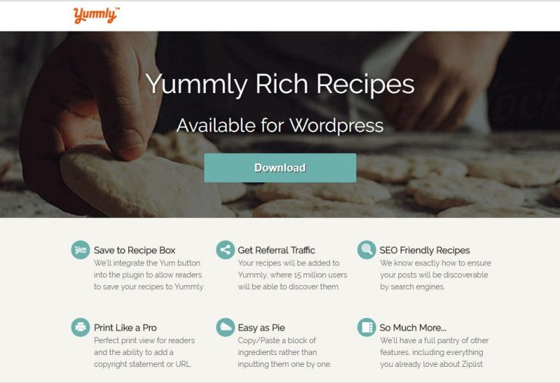 Yummly Rich Recipes