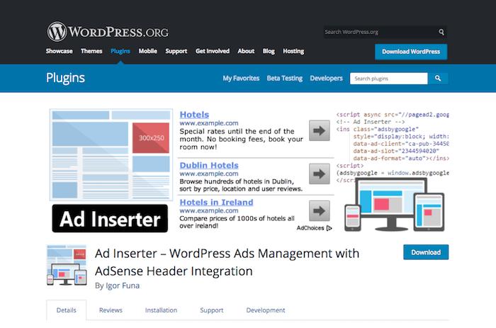 Ad Management Plugins