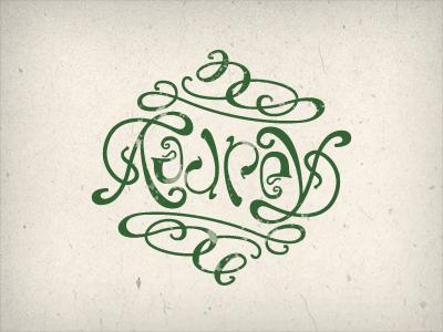 Ambigram Chris Inclenrock