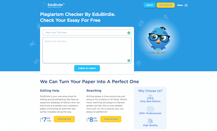 quick free plagiarism checker