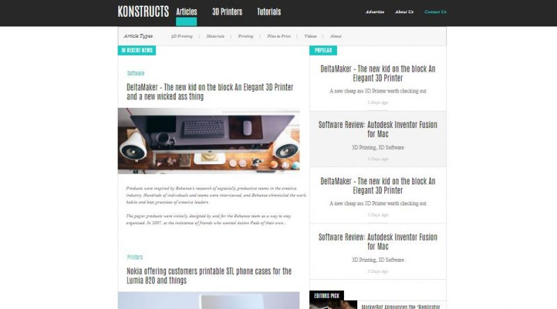 Konstructs HTML Template