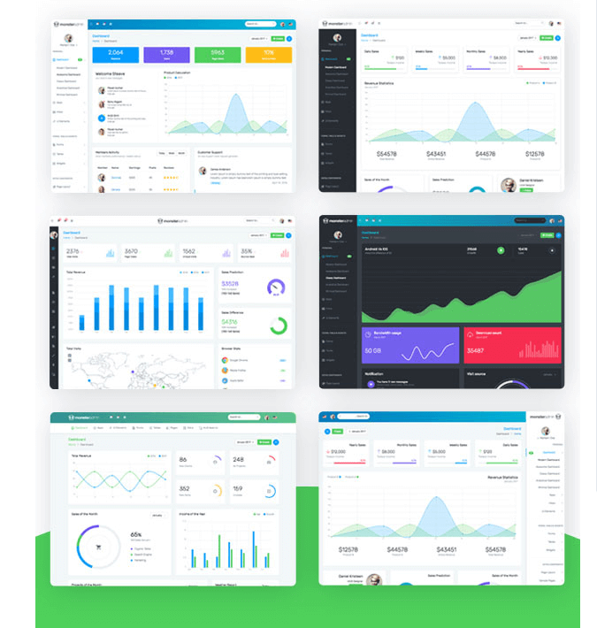 Monster Complete Bootstrap Admin Template