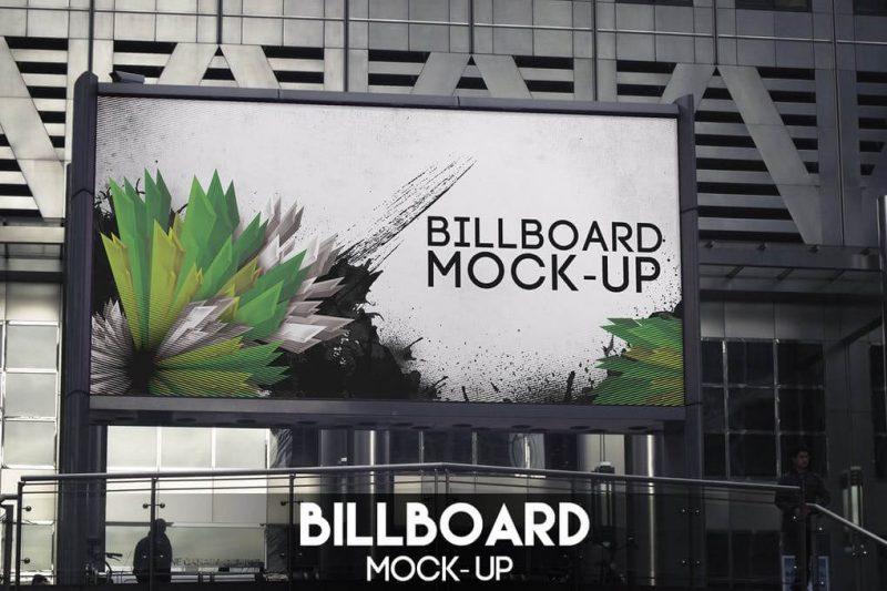 Natural Billboard Mockup