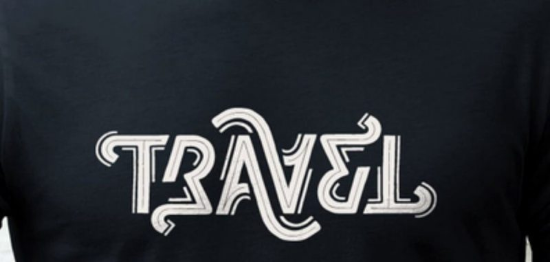 T-shirts or goodies done in an ambigram