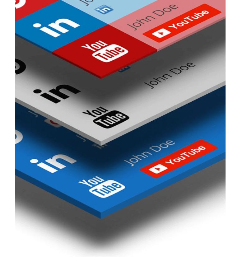 WP Flat Social Profile Blocks