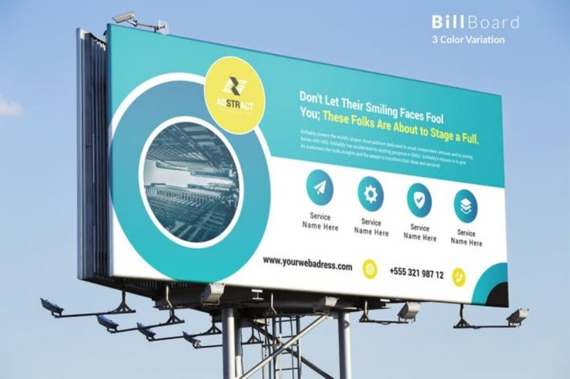 Billboard Abstract Mockup