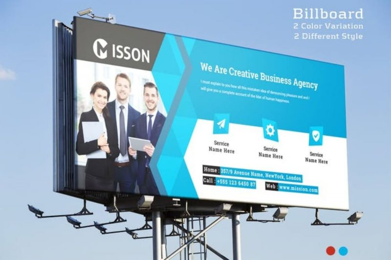 Billboard Mission Mockup