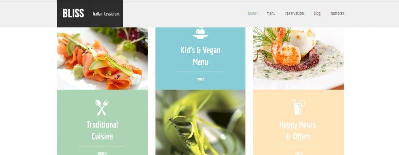 Bliss CSS3 HTML5 Template