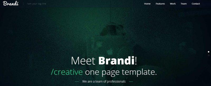 Brandi HTML5 Template
