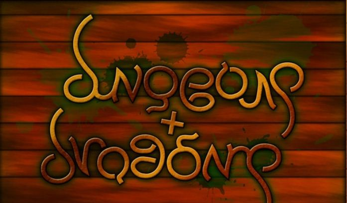 Dungeons and Dragons Ambigram