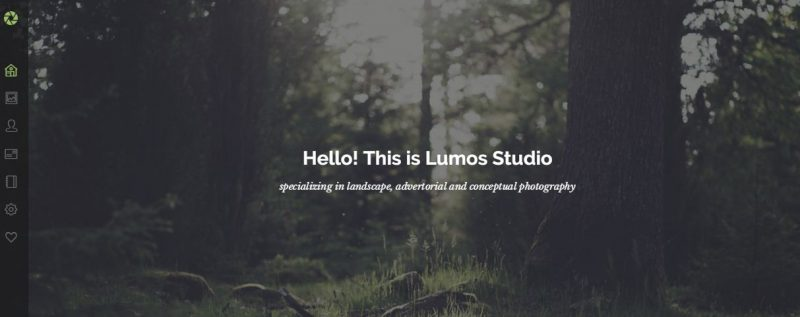 Lumos Photography Template