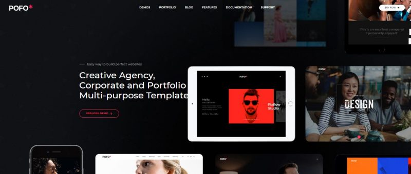 Pofo HTML Portfolio Template