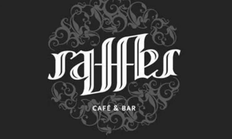 Raffles Cafe Ambigram