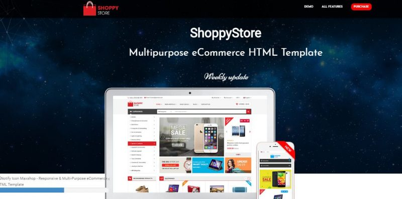 Shoppy HTML5 Template