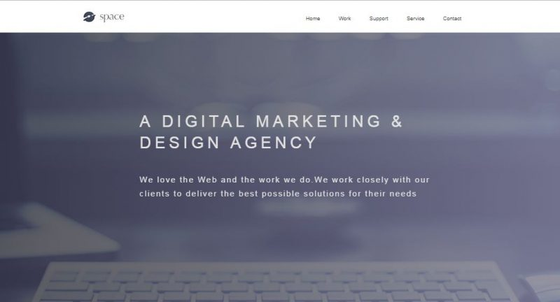 Space Agency HTML Template