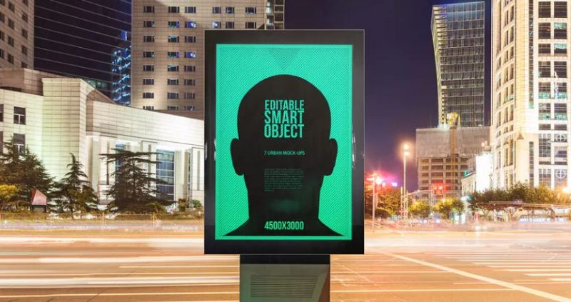 Urban Poster-Billboard Mockups