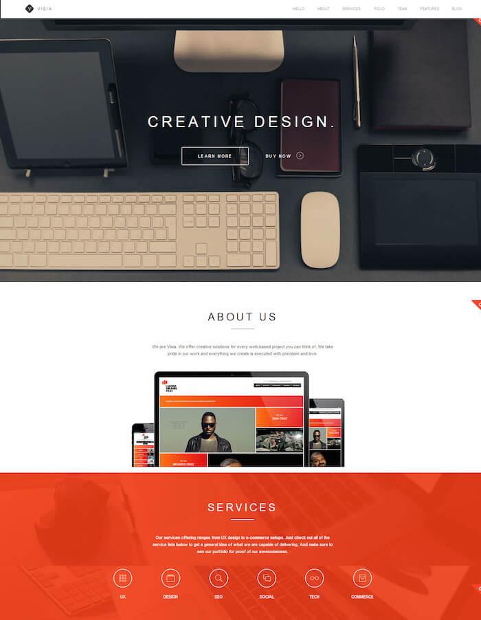 visia-portfolio-template