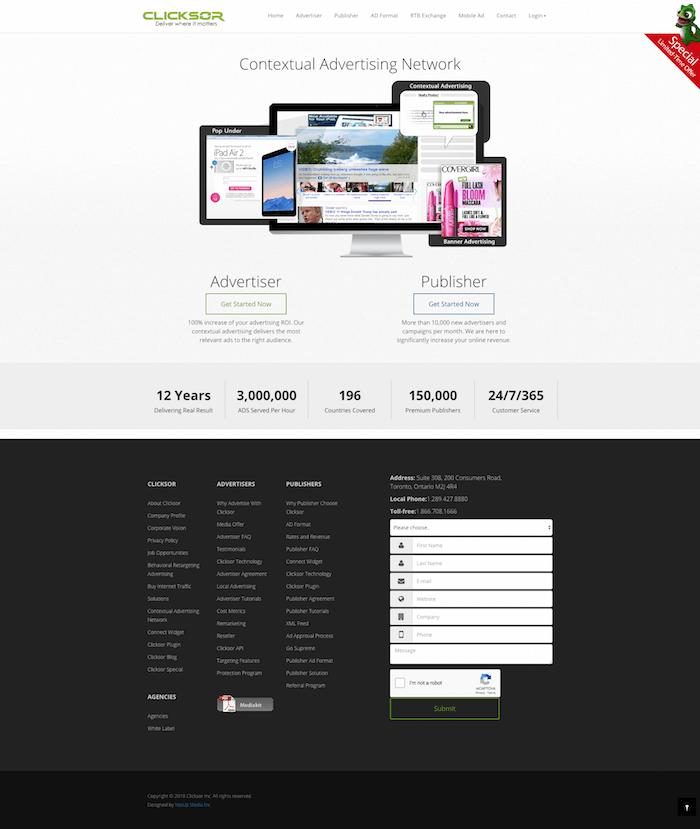 Clicksor Advertising Network