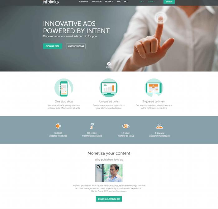 InfoLinks Advertisement Solution