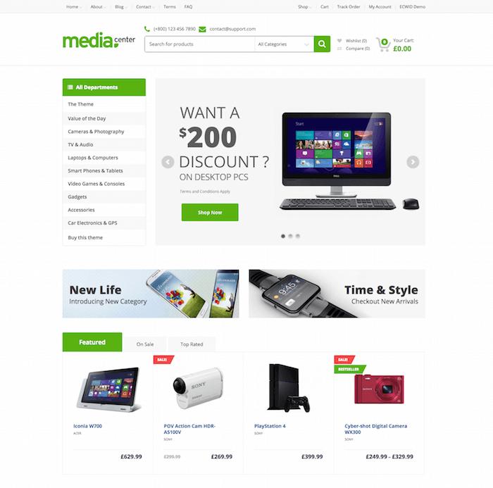 MediaCenter Theme