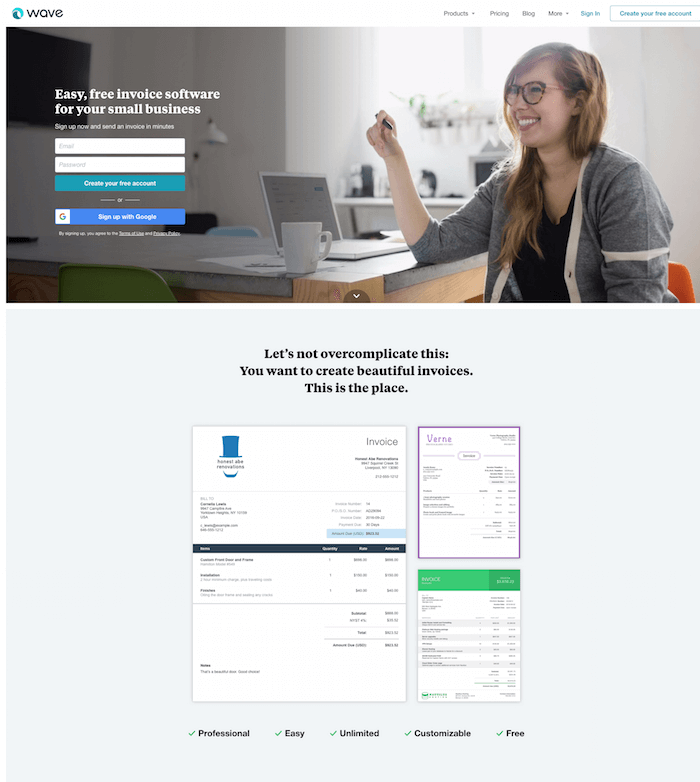 Wave Invoice Tool