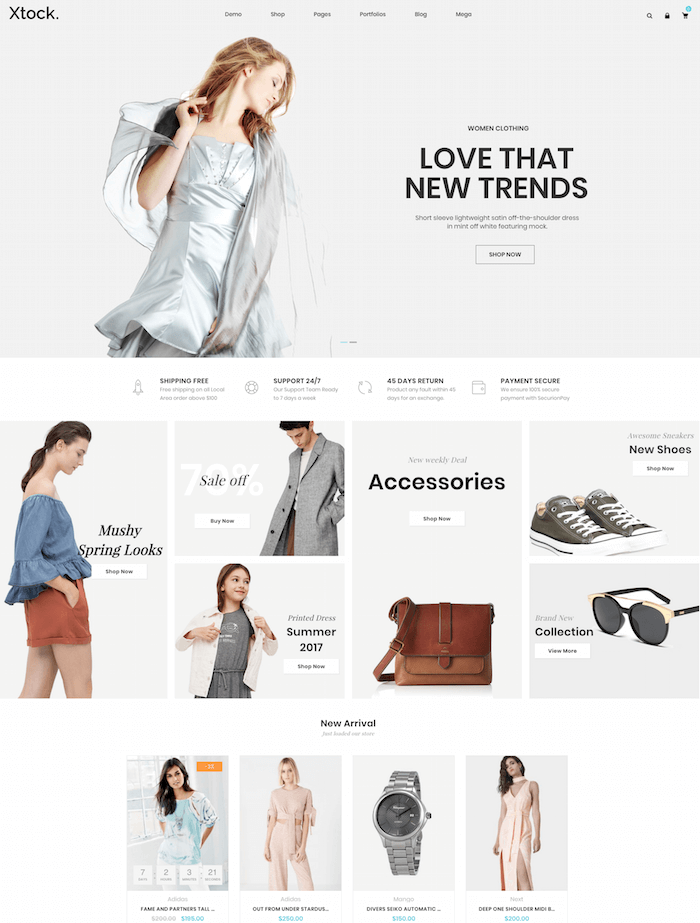 Xtocky WooCommerce Theme