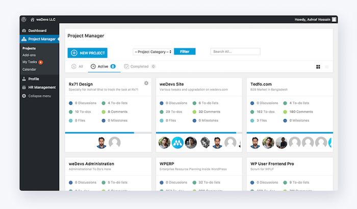wp-project-manager-pro