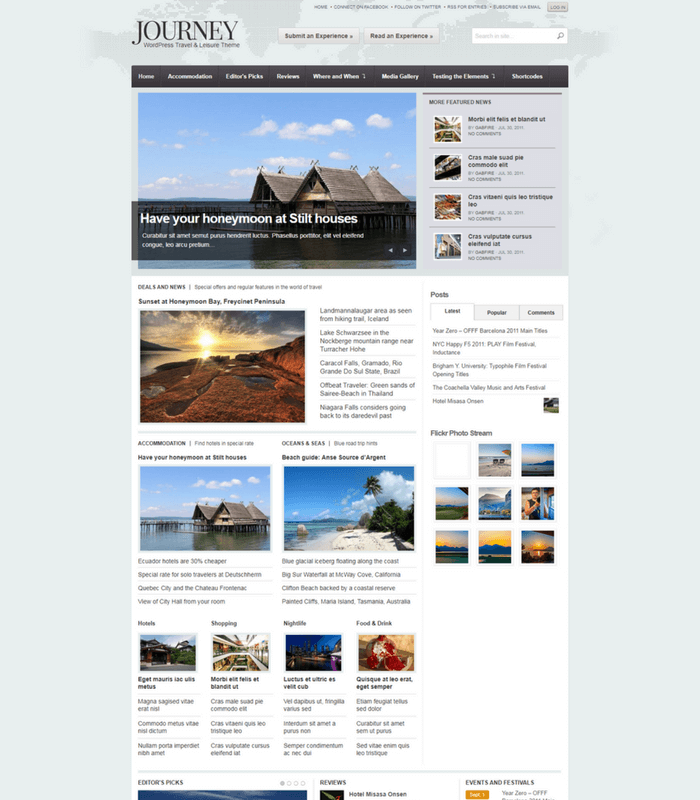 Journey WordPress Theme