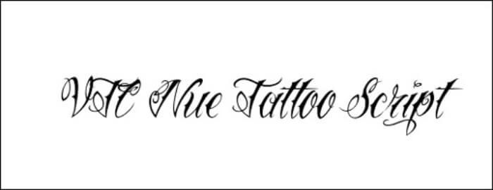 nue tattoo script