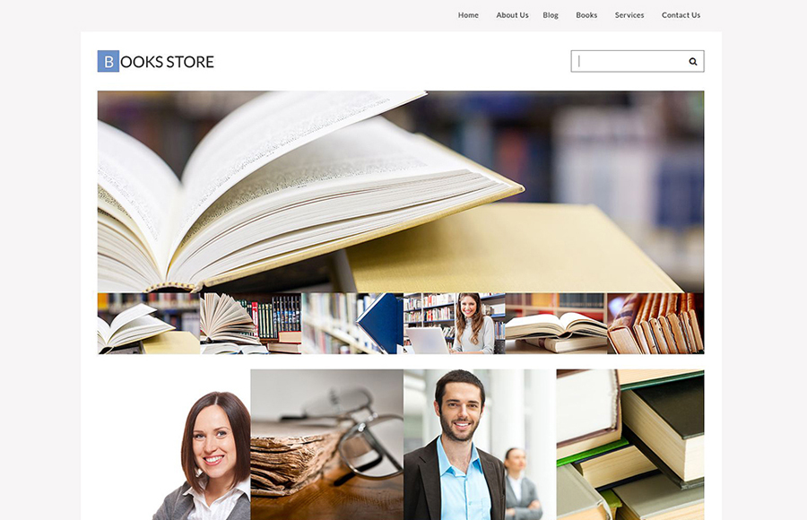 Book Store Responsive WordPress Theme
