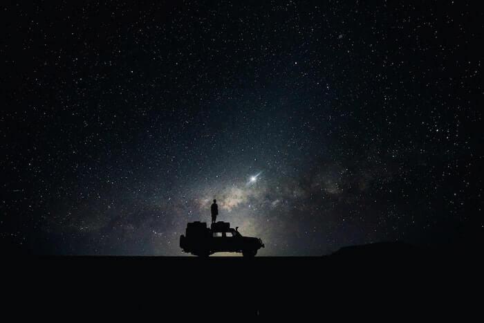 Night Sky Tumblr Background