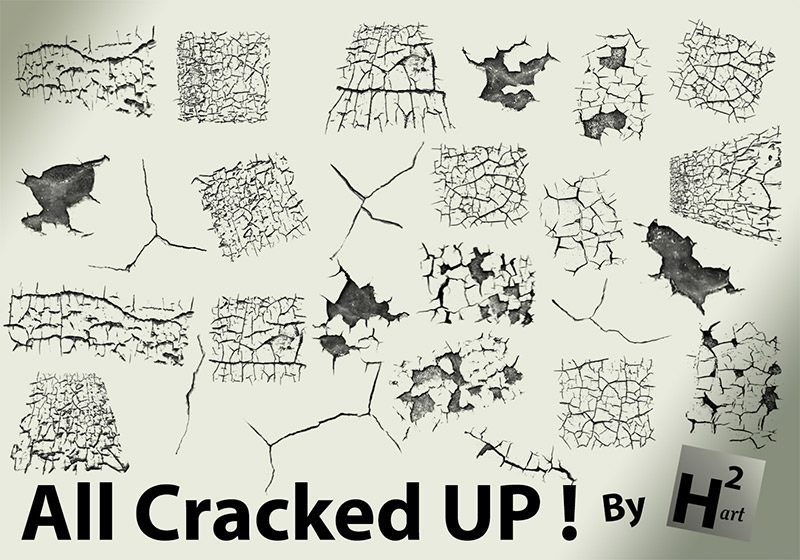 150 Cracked Brush Pack 2