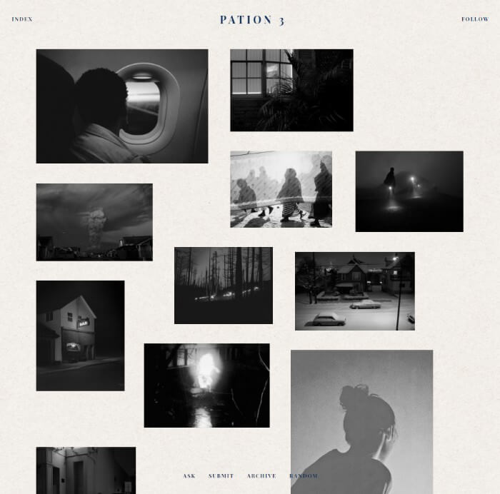 pation Tumblr theme