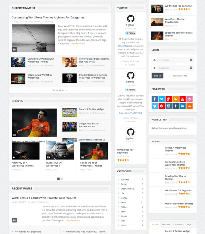 goodnews WordPress Theme