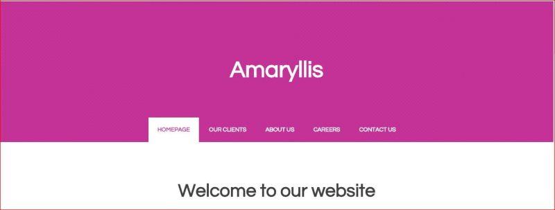 Amaryllis Template