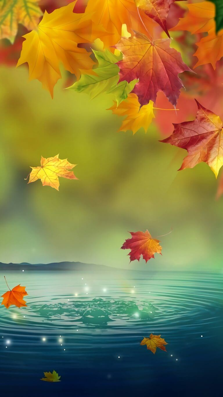 Autumn wallpaper for iPhone