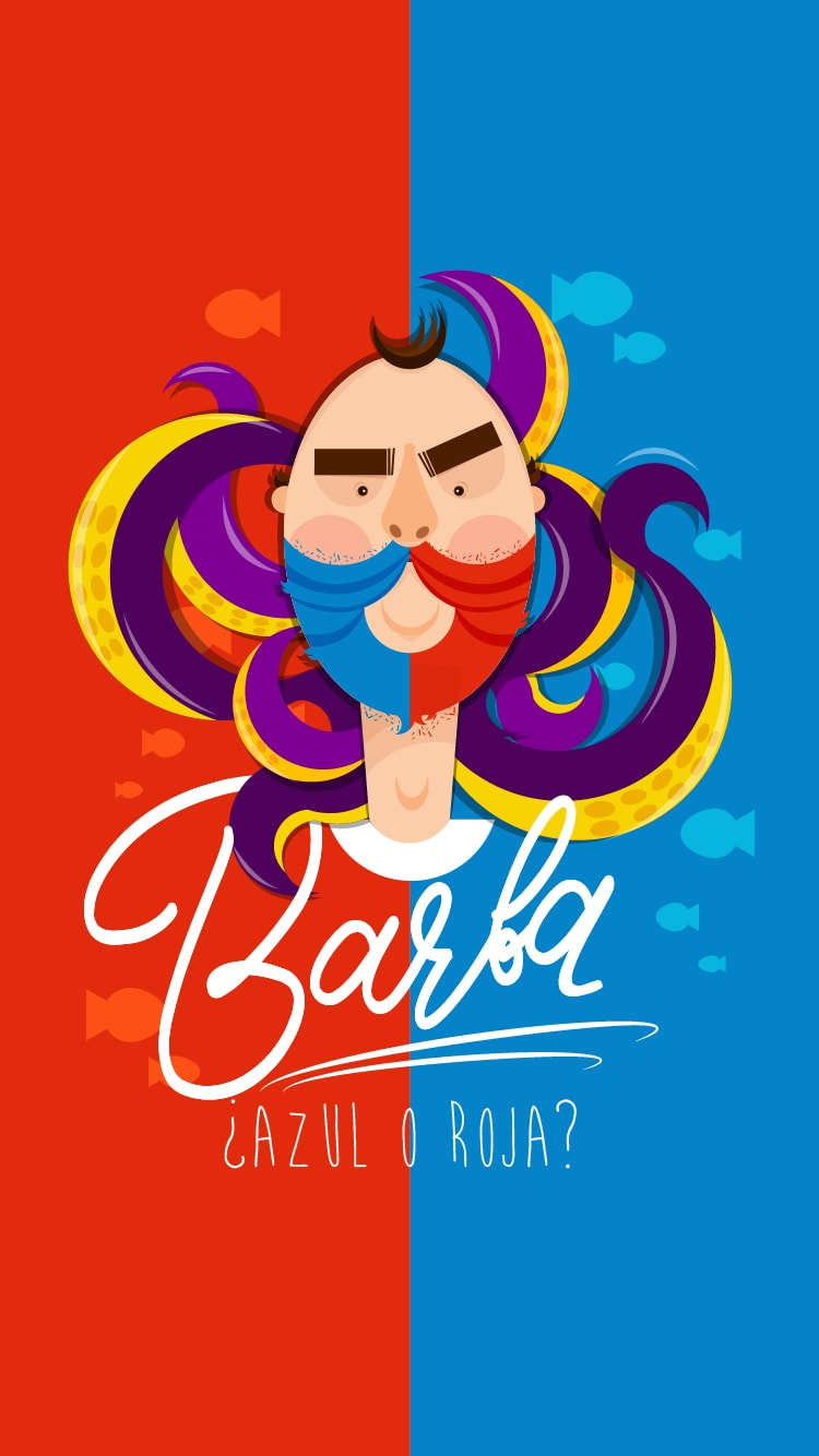 Barba iPhone Wallpaper