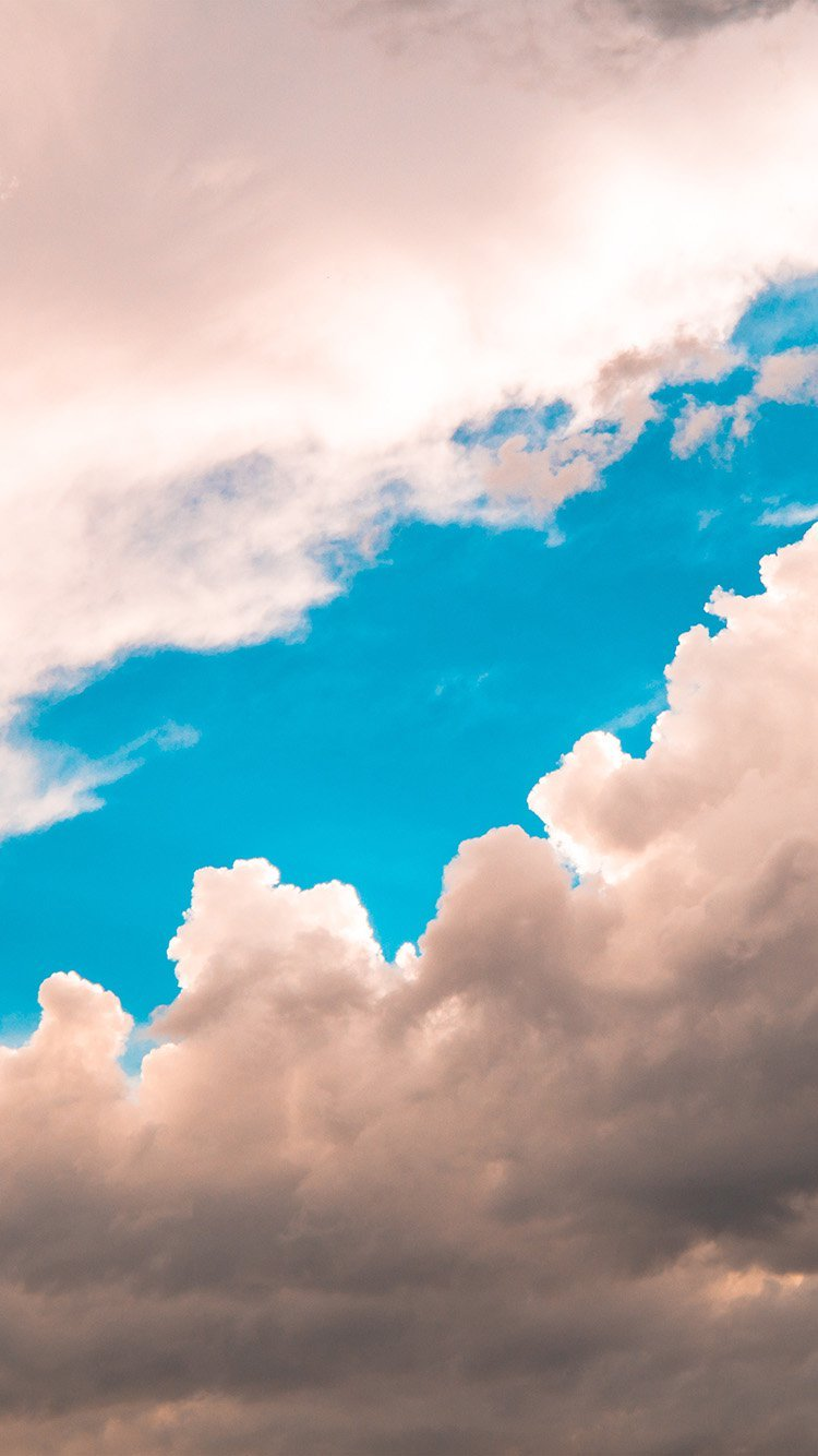 Cloud Sky Wallpaper for iPhone
