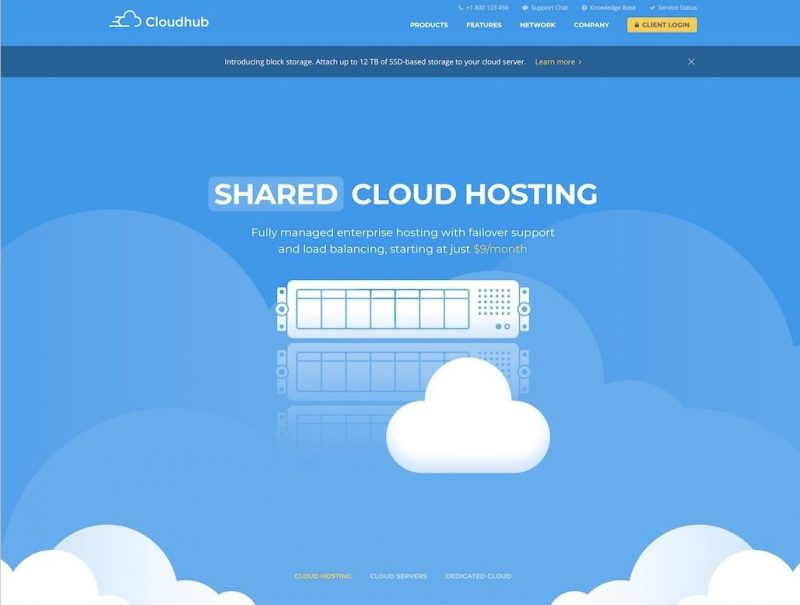 Cloudhub HTML Hosting Template