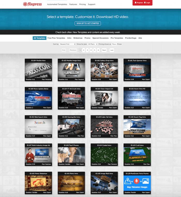 Flixpress Video Intro Maker