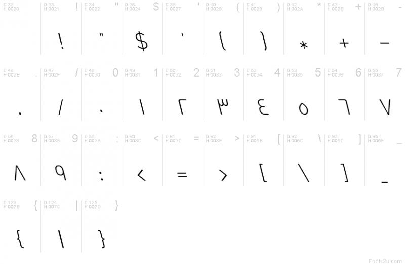 GE Dinar One Light Italic
