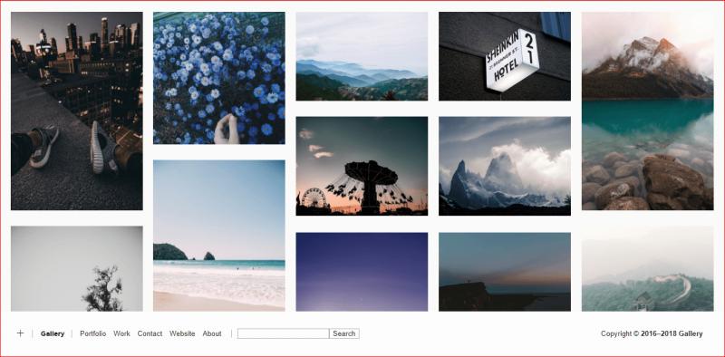 Gallery Tumblr Theme