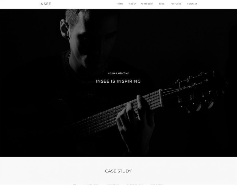 Insee HTML Template