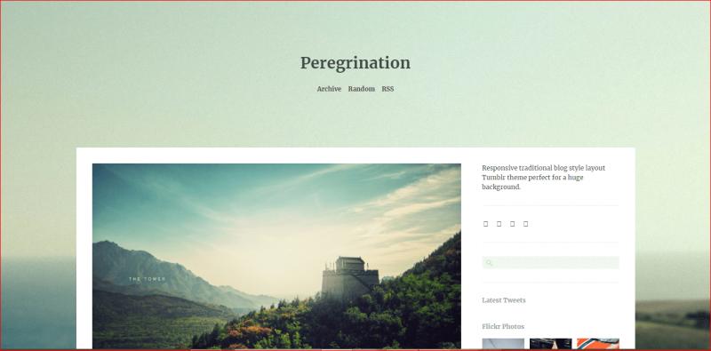 Peregrination Theme