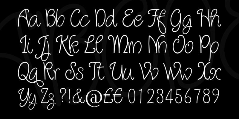 Quirlycues Handwritten Font
