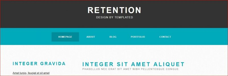 Retention Template