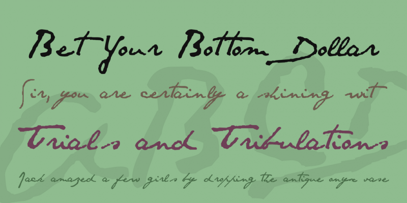 Santos Dumont Script Font