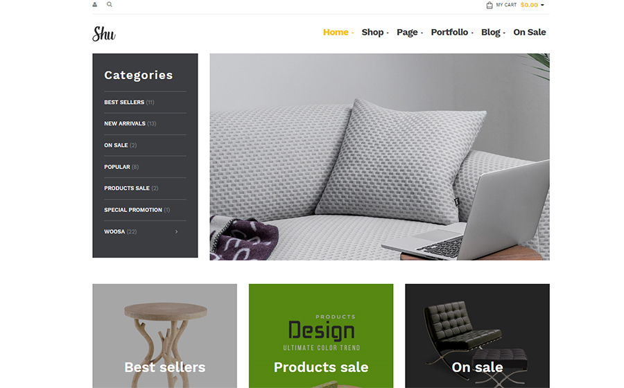 Shu - Multipurpose WooCommerce Theme