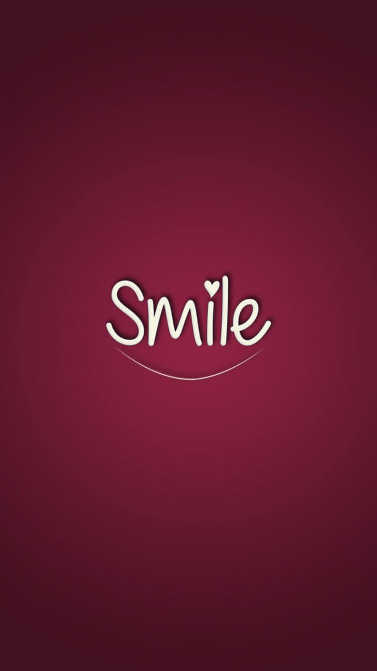 Smile Wallpaper