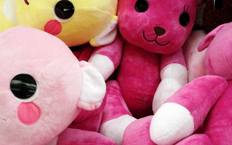 Soft Toys Wallpaper